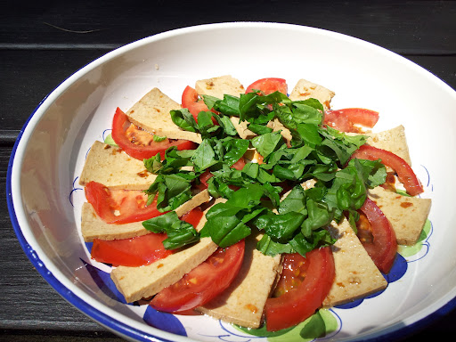 Tofu Caprese, Taste of Asia