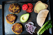 Zucchini Quinoa Burgers