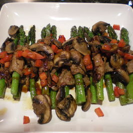 Filet-wrapped_asparagus_with_char_siu_sauce_006
