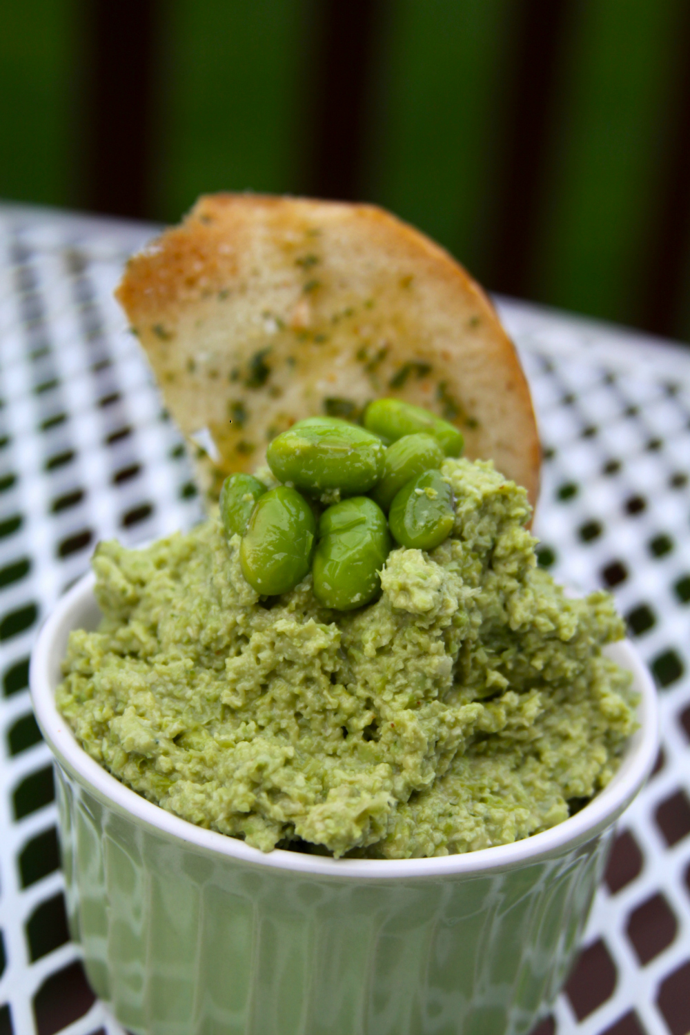Edamame Hummus