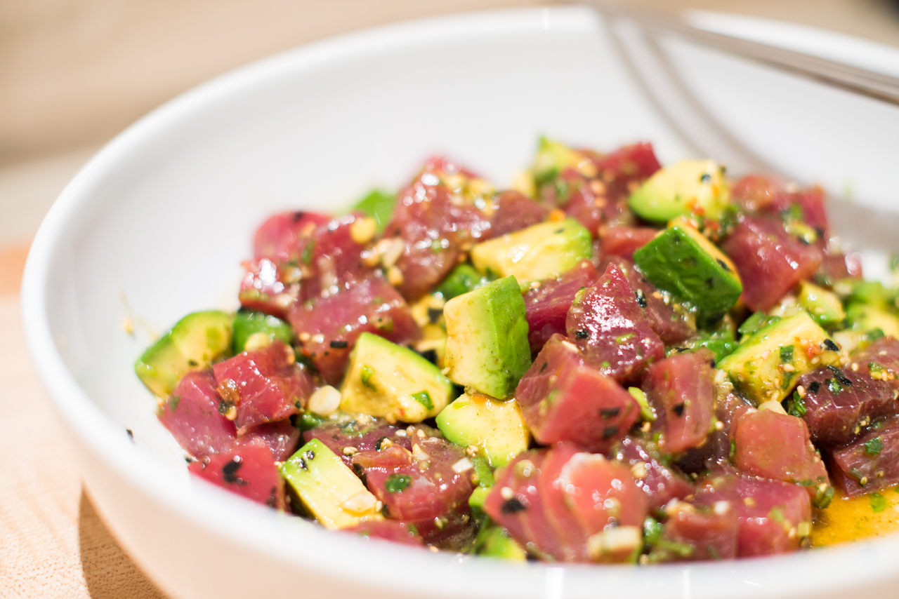 Maui Avocado & Tuna Poke Recipe on Food52