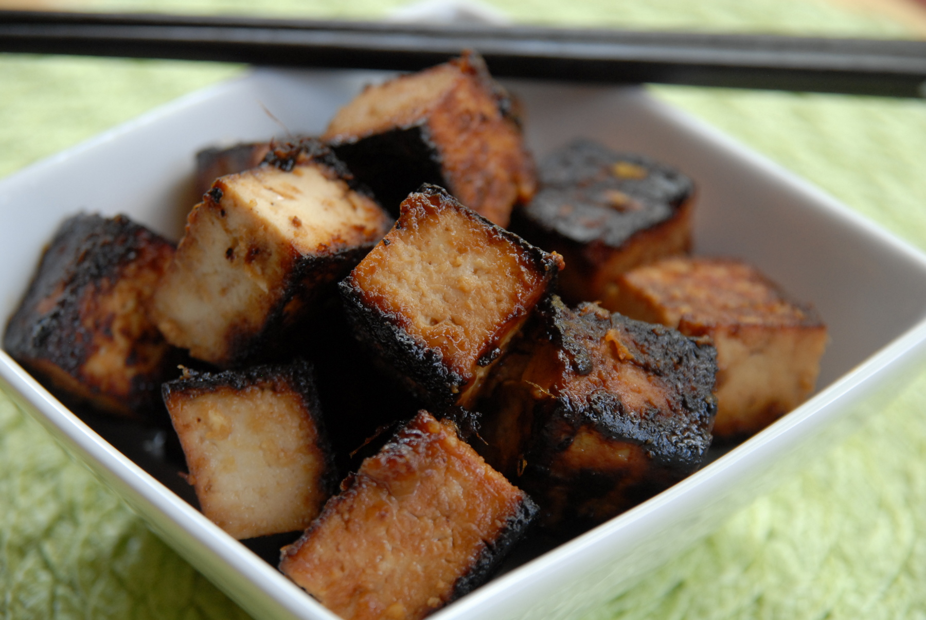 Japanese style fried tofu