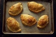 Collards and Cheese Pasties
