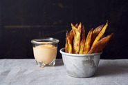 Roasted Slap Fries with Srirachannaise