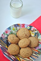 Almond Butter &amp; Coconut Cookies