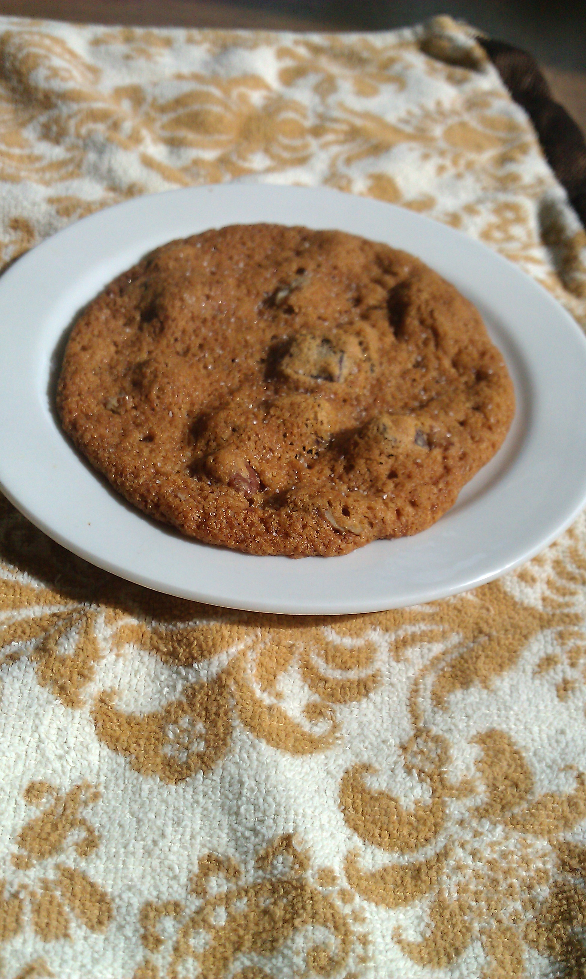"""Crack"" Himalayian Salted Chocolate Chunk Cookies"