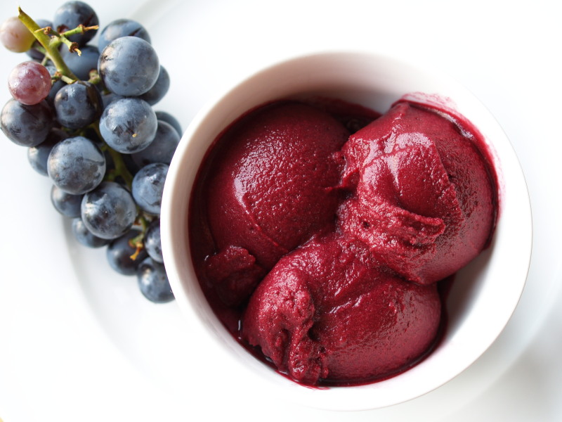 Concord grape sorbet Recipe on Food52