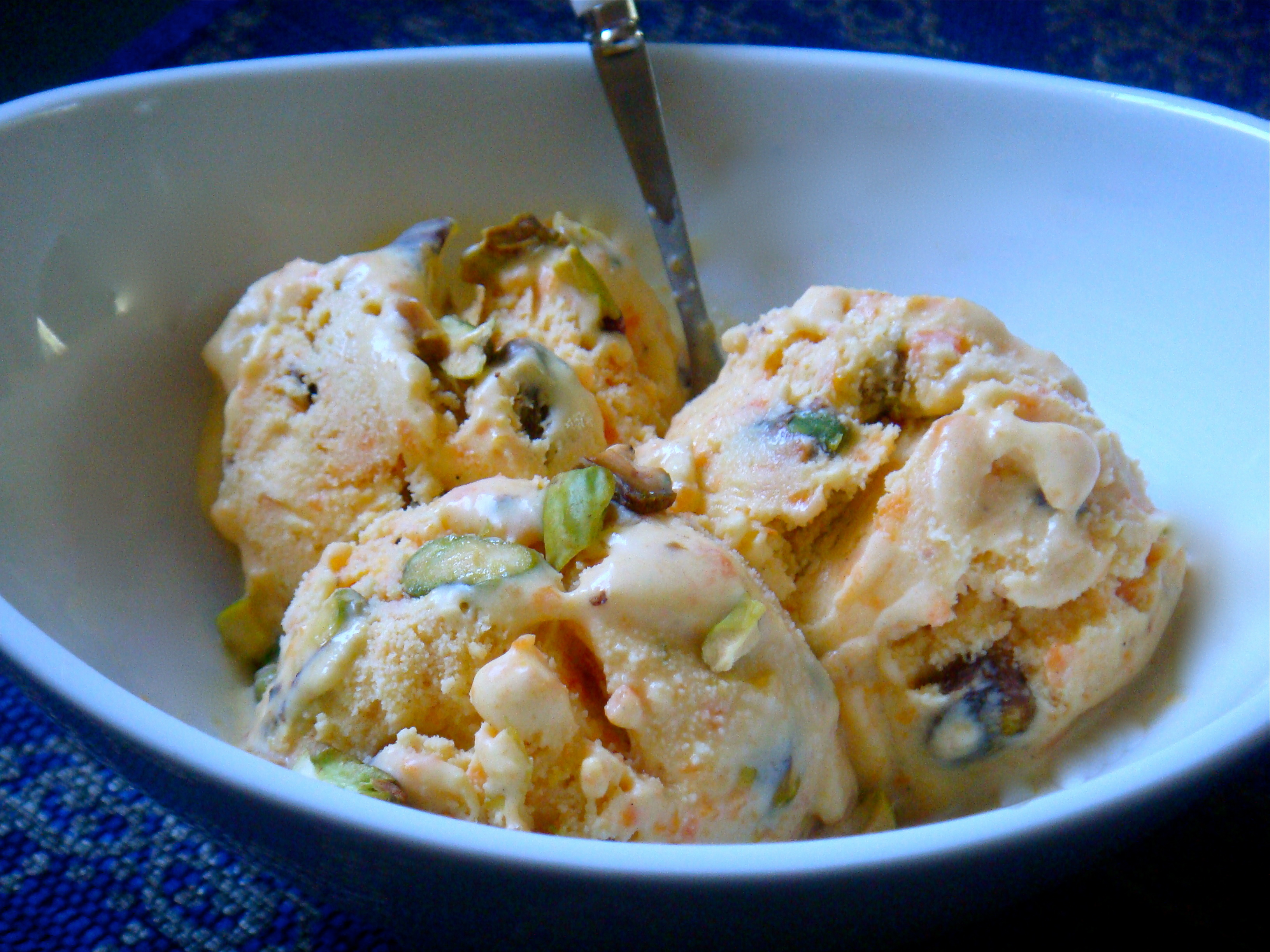Carrot Halwa Ice Cream