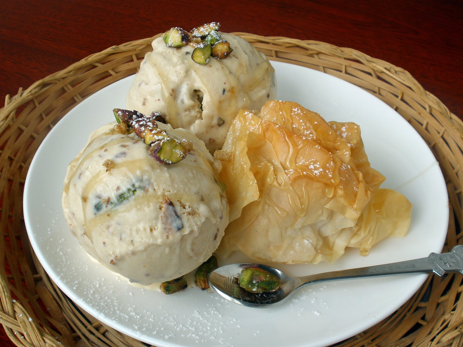 Baklava Ice Cream
