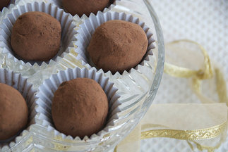 Easy Chocolate Ginger Truffles