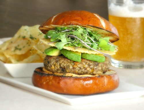 Mixed Grain Veggie Burger