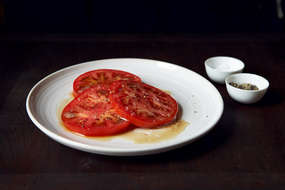 Brown Butter Tomatoes