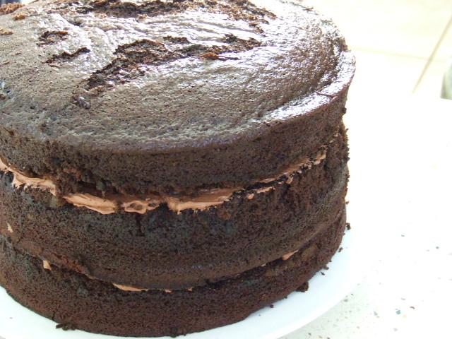 Mary Herbert&#x27;s Triple Layer Chocolate Cake with Chocolate Buttercream