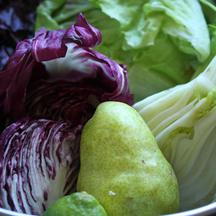 Best-of-Summer Grilled Radicchio and Pear Salad