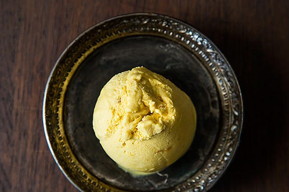 Kabocha Vanilla Chai Ice Cream