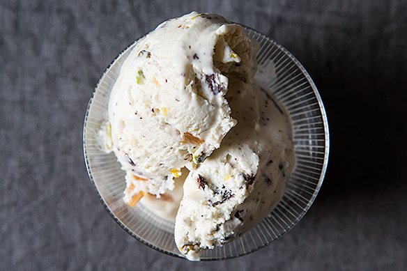 Fresh Ricotta Ice Cream