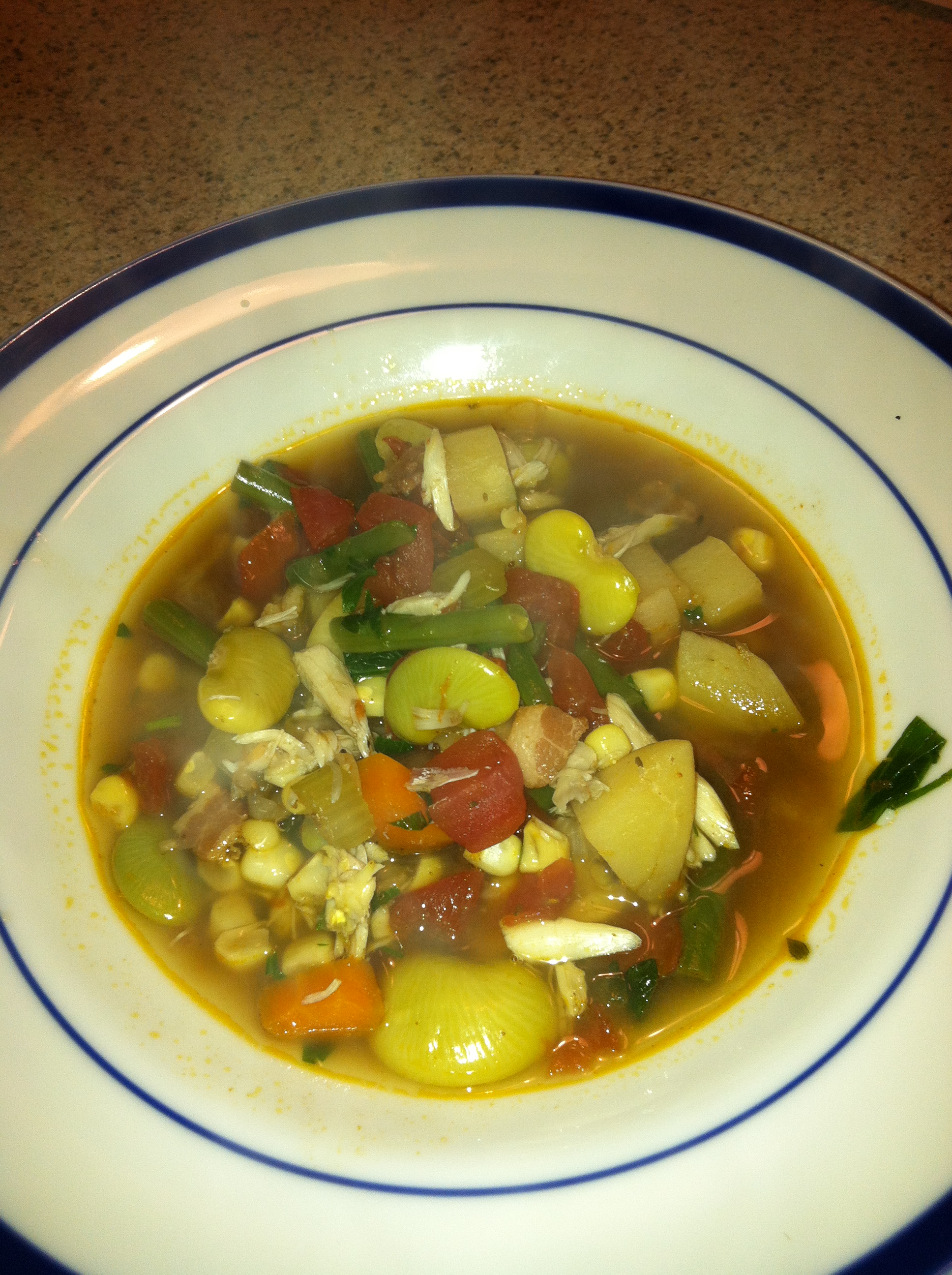 Maryland Crab and Vegetable Soup