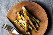 Anna Klinger&#x27;s Grilled Swiss Chard Stems with Anchovy Vinaigrette