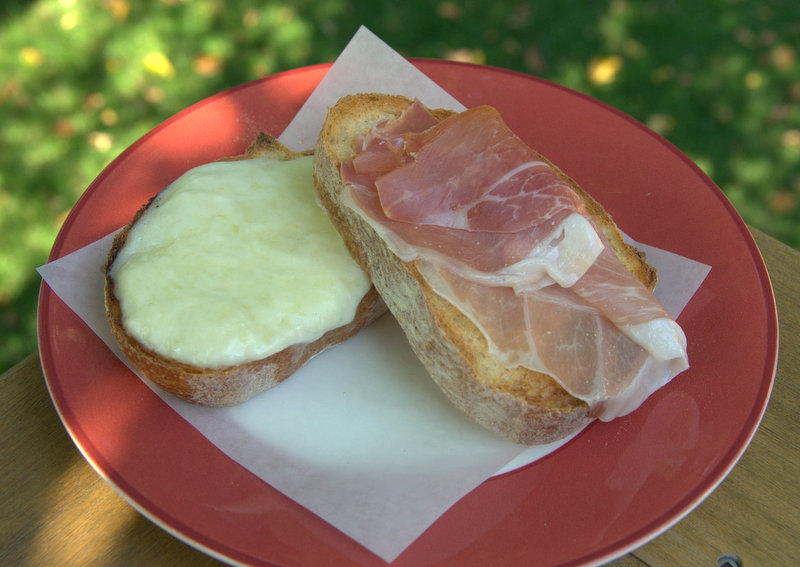 Incredible Italian Ham and Cheese Sandwich