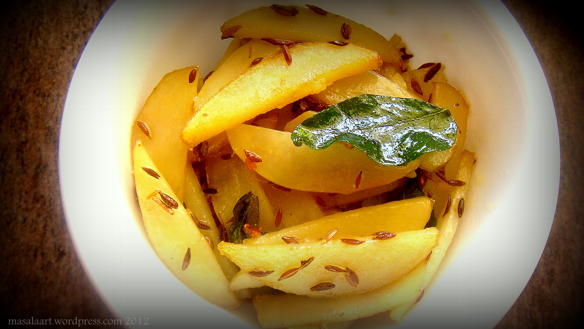 CUMIN POTATO FINGERS (ALOO-JEERA)