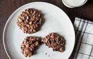 Divine gluten free chocolate cookies. No seriously.