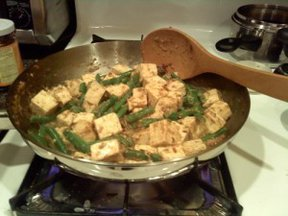 Green Bean Tofu Stir Fry