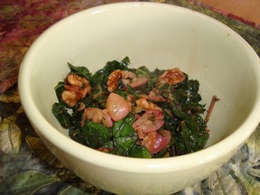 Collards & Grapes - With or Without Bacon Versions