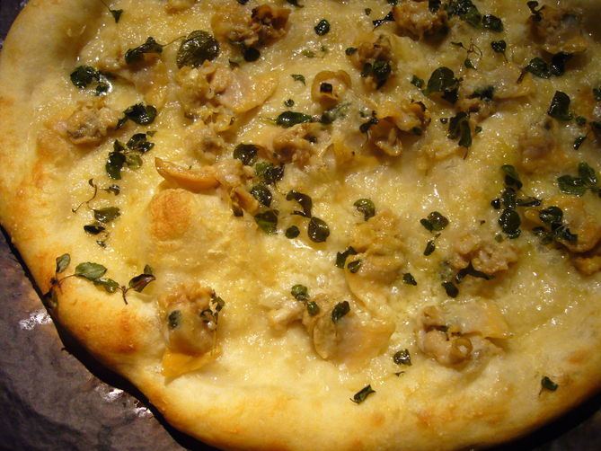 White Clam Pizza