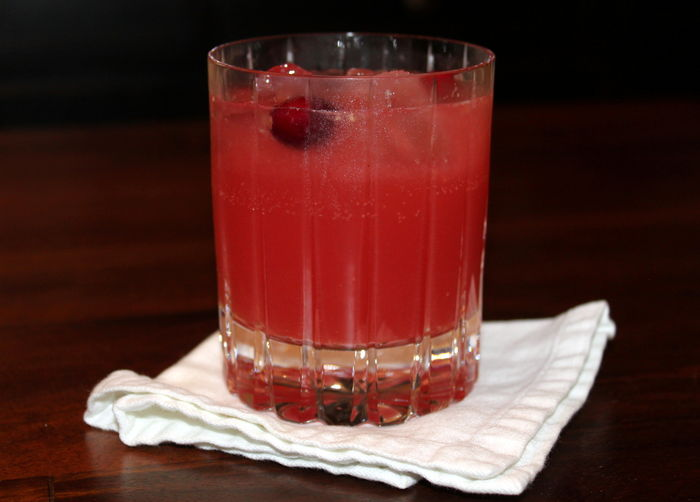 Cranberry-Rosemary Soda