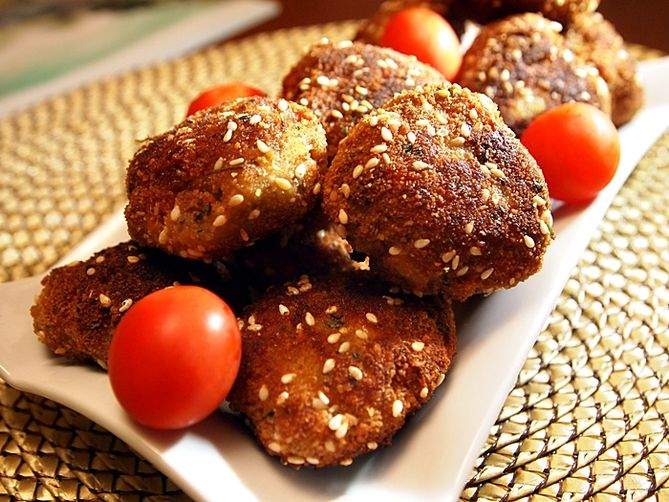 Breaded Turkey Meatballs