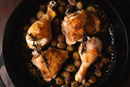 Simple Roasted Grape Chicken