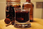 Spiced Glgg with Port Wine and Cointreau