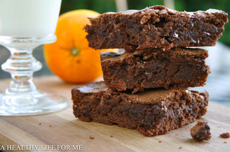 Double Chocolate Orange Brownies
