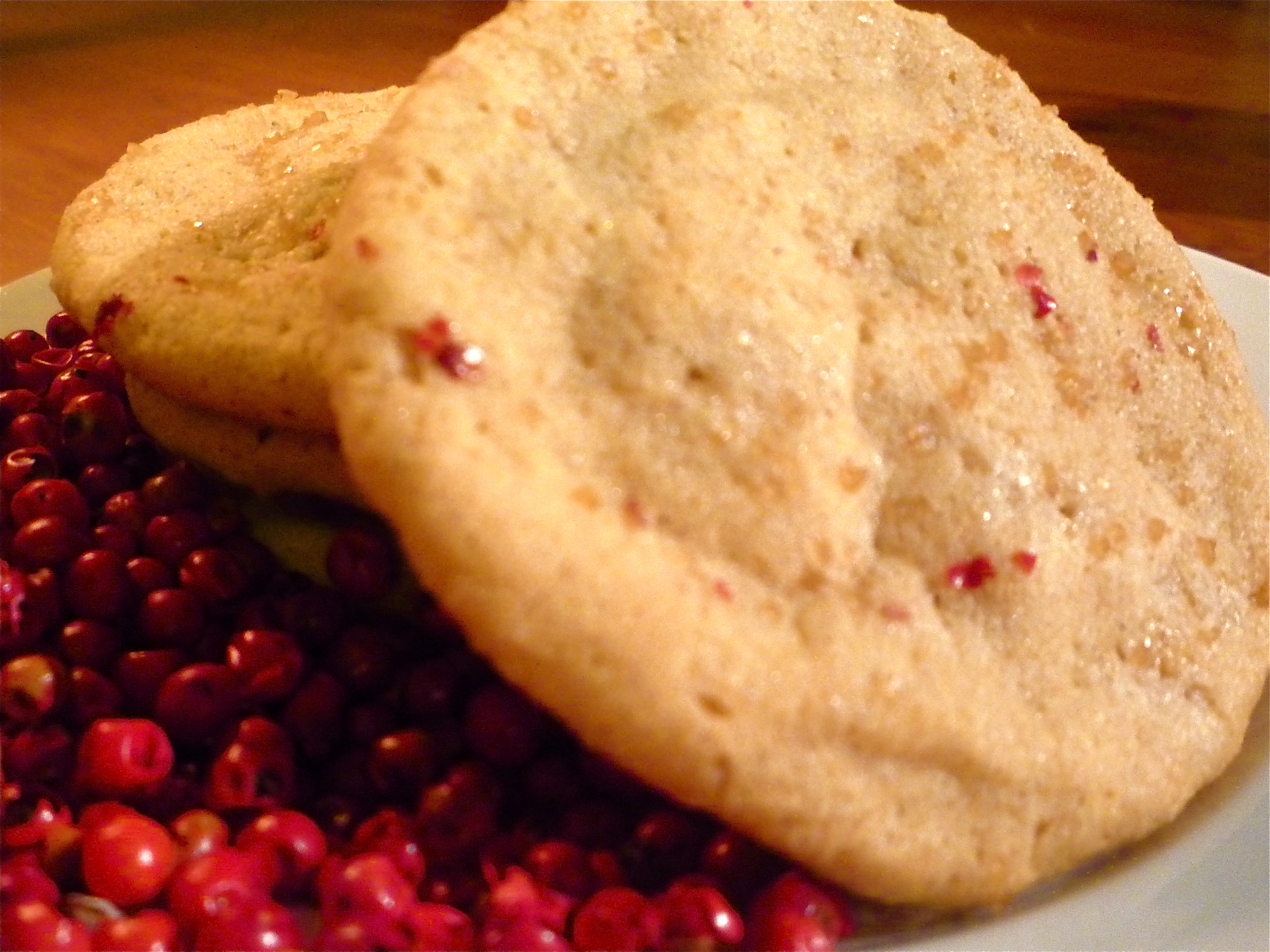 Pink Peppercorn Sugar &amp; Spice Cookies