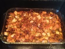 Chorizo Sweet Potato Stuffing