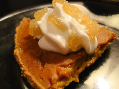 Tofu Pumpkin Pie