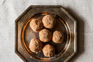 Earl Grey Vanilla Bean Truffles Two Ways