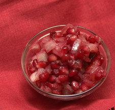 Pomegranate Cranberry Relish