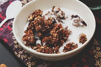 Best For Breakfast Apple Chocolate Granola