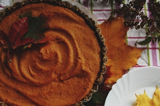 The Healthiest Pumpkin Pie Ever