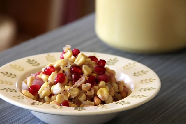 Pomegranate and Corn 