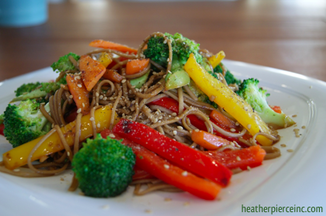 Sesame-veggie-stir-fry-with-soba-noodles