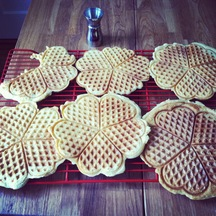 Beer waffles