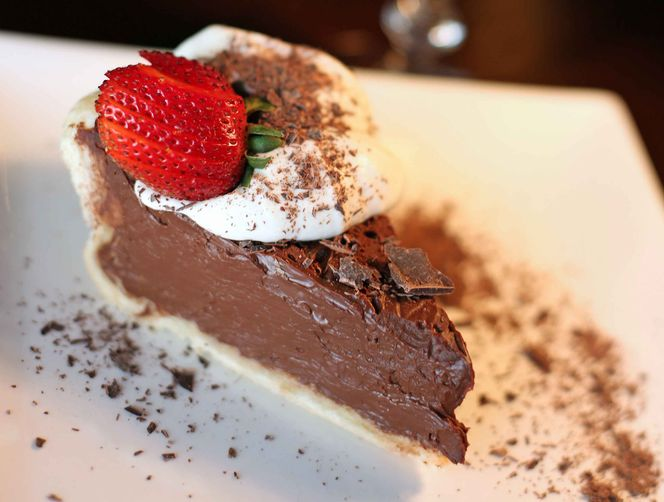 Guinness Chocolate Cream Pie