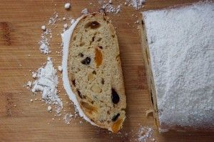 German Christmas Stollen