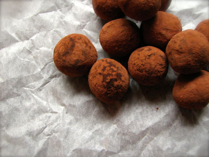 Beer Chocolate Truffles