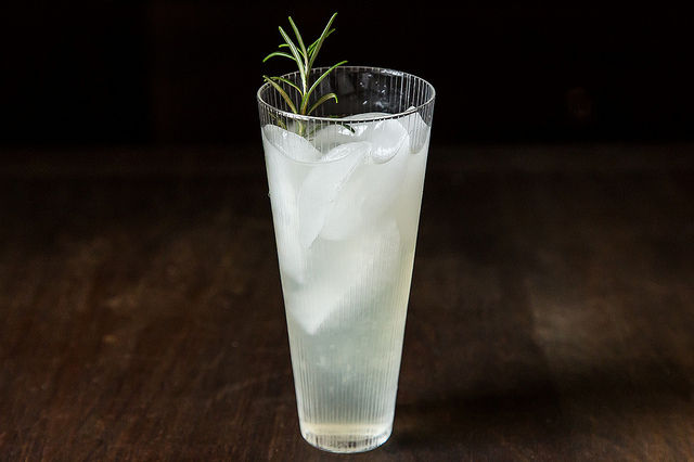 Rosemary Gin Cocktail onF odo52