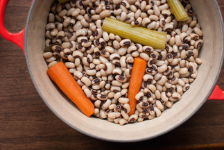 A Pot of Black-Eyed Peas