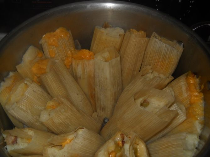 The Incredible Bacon Tamale
