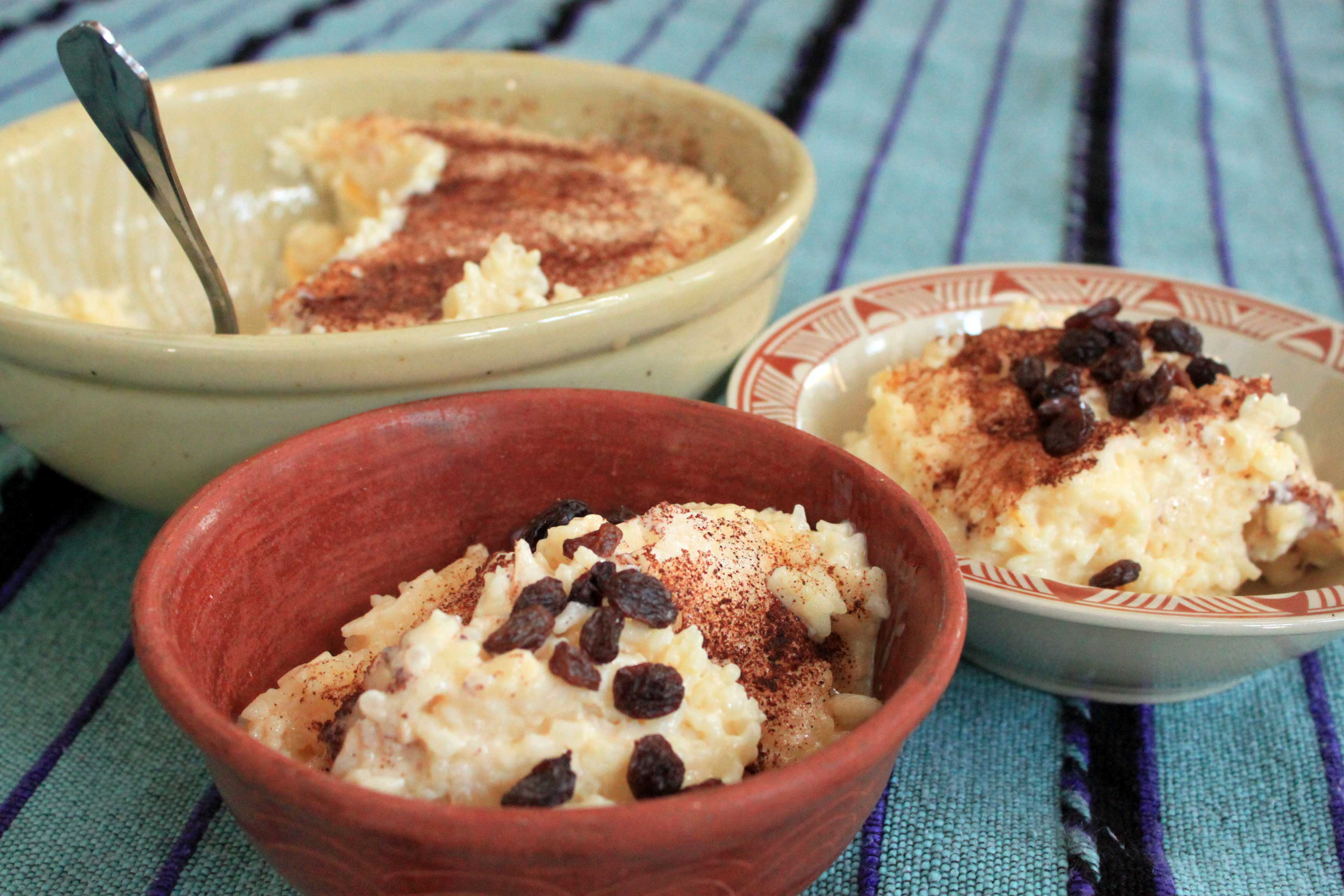 arroz con leche nuevo mexicano